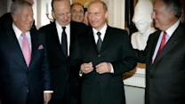 Vladimir Putin Accused of Stealing Super Bowl Ring
