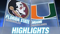 Florida State vs Miami | 2014-15 ACC Women's Basketball Highlights