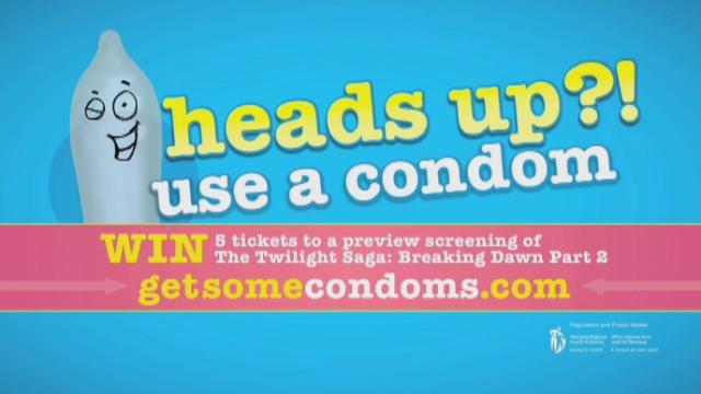 Winnipeg health authority's condom campaign