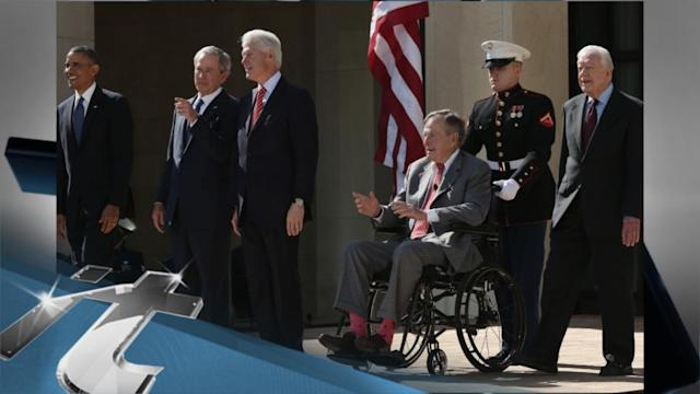 Barack Obama Breaking News: George H.W. Bush Attending White House Event Hosted By Obamas