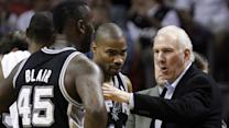 Spurs coach makes controversial move