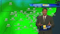 Humidity expected to dissipate