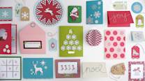 Homemade Cards for the Holidays with Martha Stewart