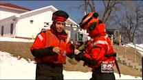 CBS 2 Reporter Experiences Ice Rescue Firsthand