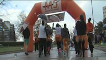 Multiple sclerosis survivors walk to find a cure