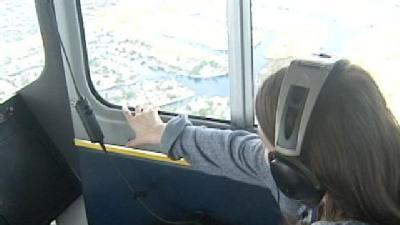 Leukemia Patient Gets Ride In Goodyear Blimp