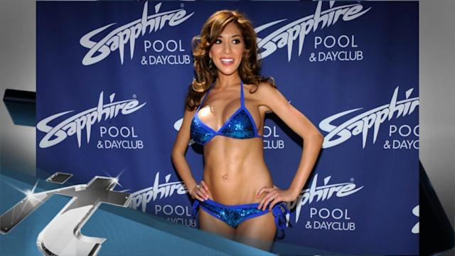 Television Latest News: Bikini-Clad Farrah Abraham Flaunts Her New Assets in Las Vegas