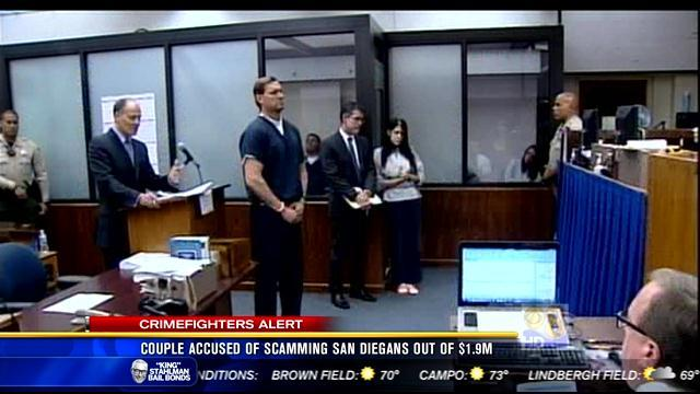 Couple accused of scamming San Diegans out of $1.9M