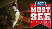 Florida State's Kelvin Benjamin Soars For Touchdown Grab | ACC Must See Moment