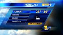 Maryland's Monday evening weather forecast