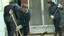 TODAY Anchors Lend a Hand in Sandy Recovery Efforts