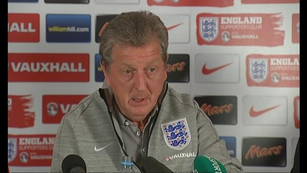 Roy Hodgson impressed by England squad