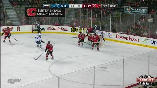 St. Louis Blues at Calgary Flames - 01/09/2014