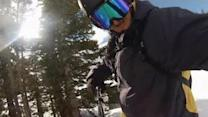 GoPro Selfie Snowboarding Attempt Ends in Failure