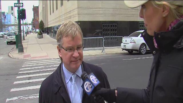 Bobby Ferguson's attorney Mike Rataj reacts to guilty verdict