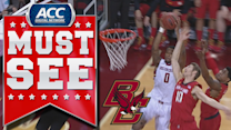 BC F Garland Owens Throws Down Nasty Alley-Oop | ACC Must See Moment