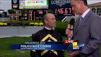 Oxbow jockey Gary Stevens on winning
