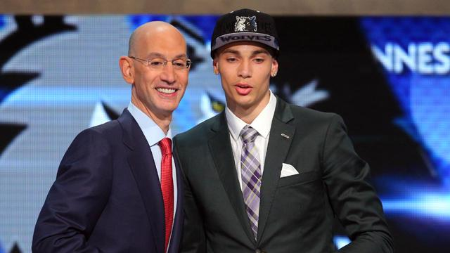 Timberwolves select LaVine with No. 13 pick