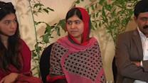 Malala campaigns on behalf of abducted schoolgirls in Nigeria