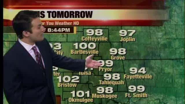 Andy's Monday Night Forecast