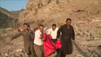 Casualties following Turkish bombardment on Iraq's Kurdistan