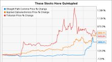 These Stocks Have Quintupled Since Last Spring