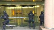 UK police in militant attack exercise