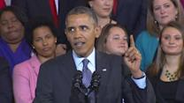 Obama defends rocky rollout of signature health care reform
