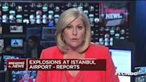 Two explosions at Ataturk airport