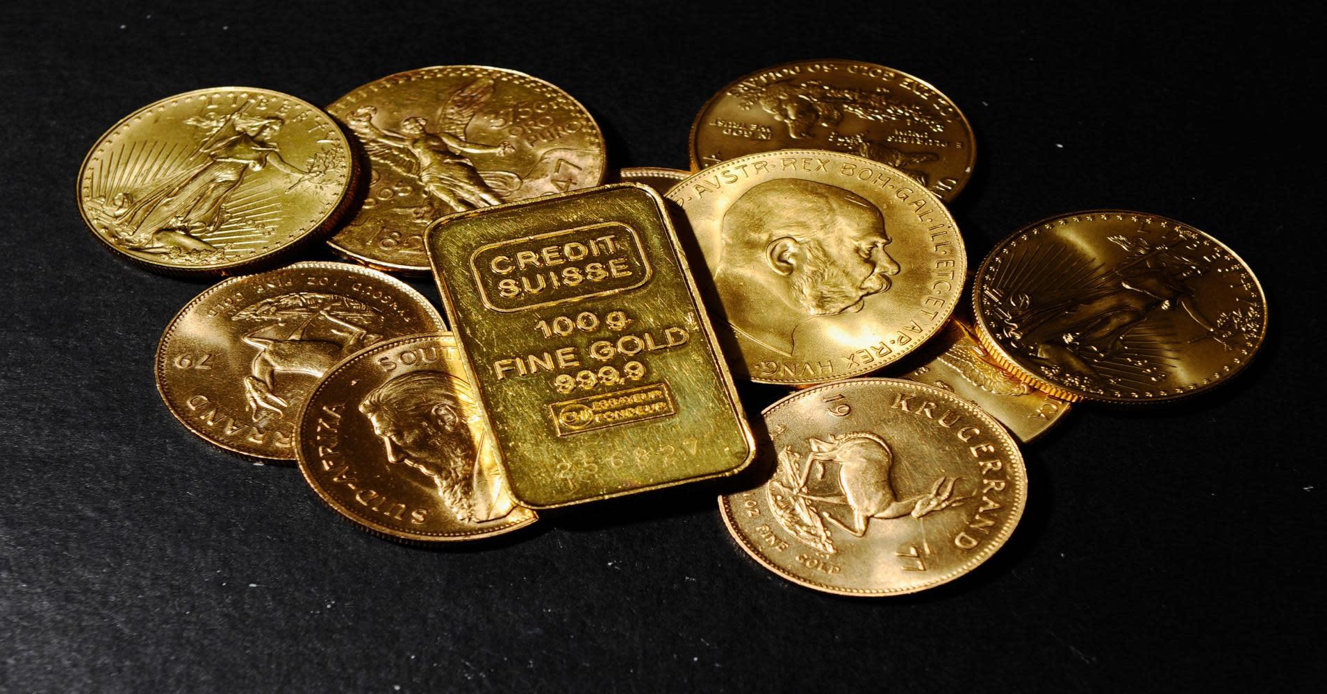 Bollinger bands gold