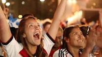 Fans react to Germany's win in World Cup final