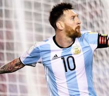 Messi penalty puts Argentina back on track with 1-0 World Cup qualifying win over Chile