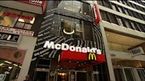 Cold weather chills McDonald's sales