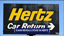 Icahn reveals stake in Hertz