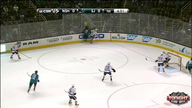 Nashville Predators at San Jose Sharks - 04/05/2014