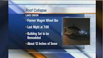 Lake Orion Bar Roof Collapse