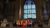 Britain honours Mandela in Westminster Abbey