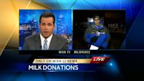 Local trucking companies come forward to deliver milk