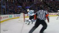 Scrivens robs Marleau on multiple attempts