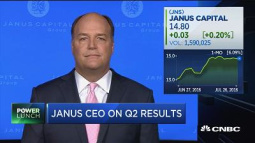 Election a two-ring circus, but focus should be on jobs, Janus Capital CEO says