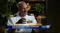 Crest for USS Milwaukee to be unveiled Tuesday