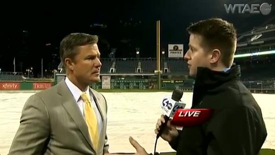 Opening Day: Frank Coonelly pregame interview