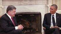Obama Meets With Ukrainian President Poroshenko