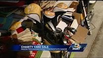 Student plans massive yard sale to benefit prostate cancer walk