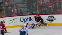Lee Stempniak crushes Andrew Ference