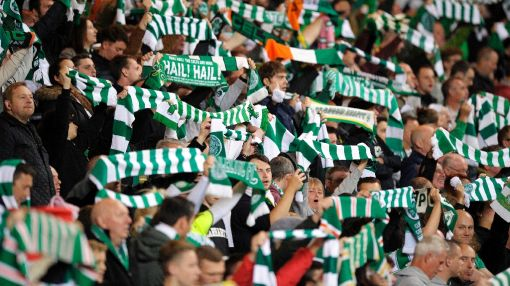 Celtic thrash Dons to move top