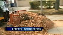City crews want leaves picked up before snow flies