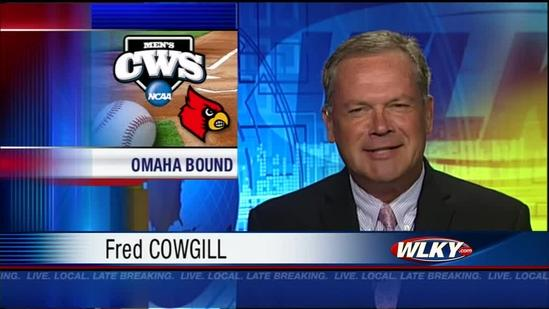UofL baseball team heads to College World Series to take on IU