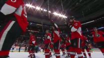Senators salute fans after Game 6