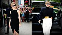 Is Lady Gaga Toning Down Her Daring Style?